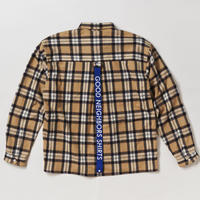 PAUL  BAND COLLAR SHIRTS  -TARTAN-