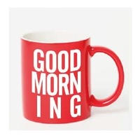 GOOD MORNING MAG -RED-