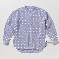 BASUKIA BAND COLLAR SHIRTS -SODA-