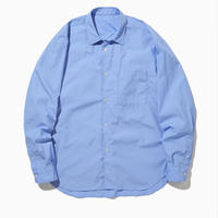 NOEL WIDE REGULAR COLLAR SHIRT-SKY-