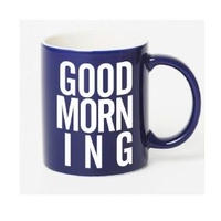 GOOD MORNING MAG -NAVY-