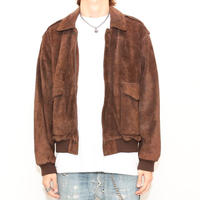 A-2 Suede Leather Jacket