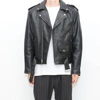 Vintage Leather Double Raiders Jacket