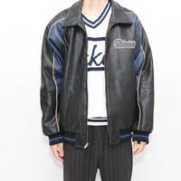 Leather Stadium Jacket