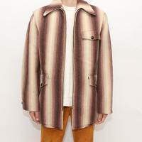 50's Wool Rich Zip Up  Jacket