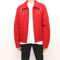 Harley Davidson Wool Zip Up Jacket