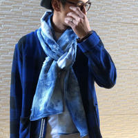 KNIT DENIM STOLE 【CRASH】/ AC23