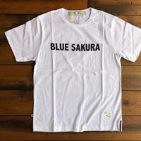 BLUE SAKURA PRINT T-SHIRT 【W-BK】/ BS-CS1-03