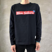 "STEP L/S T-SHIRT ""BOX-LOGO""【BLACK】/ BS-LCSP03-01-BK"