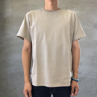 ROUND T-SHIRT【BEIGE】/ BS-CS02-bg