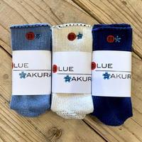 BLUE SAKURA SOCKS / AC01