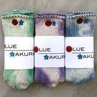 BLUE SAKURA SOCKS 【MURAZOME】/ AC01