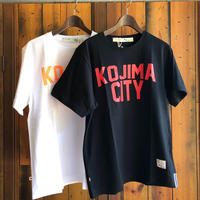 KOJIMA CITY PRINT T-SHIRT 【BLACK-RED】/ BS-CSP1-bk-re