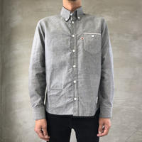 VINTAGE OXFORD SHIRT【GRAY】/ BS-SH13