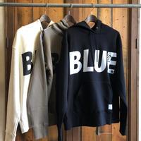 """CLASSIC VINTAGE HOODIE """"BIG BLUE"""" 【BLACK】  / BS-SWP04-BK"""