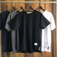 ROUND T-SHIRT【BLACK】/ BS-CS02-bk