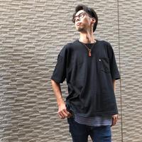 BIG  T-SHIRT【BLACK】/ BS-BCS1-BK