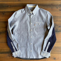 VINTAGE OXFORD SHIRT【NAVY】/ BS-SH13