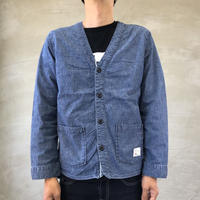 CHAMBRAY CARDIGAN Pocket /  BS-CD01
