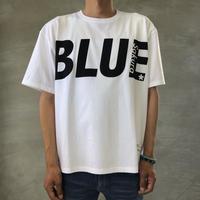 "BIG  T-SHIRT ""BIG BLUE""【WHITE-BLACK】/ BS-BCSP01-WH-BK"