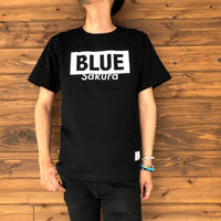 "BASIC T-SHIRT  ""LOGO-B"" 【BLACK-WHITE】/ BS-S4-CSP02-bk-wh"