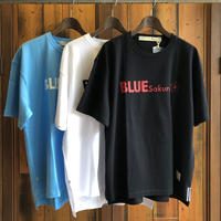 "BIG  T-SHIRT ""LOGO C""【BLACK-RED】/ BS-BCSP02-BK-RE"