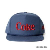COCA-COLA CLASSIC CAP / NAVY / 14B19AC35GR