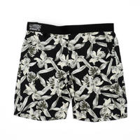 BLUEY×JIMMY'Z RAYON SHORTS / BLACK / 15B20PA22SI