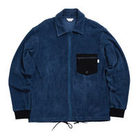 PILE ZIPUP JACKET /  NAVY  / 13B19JK23FB