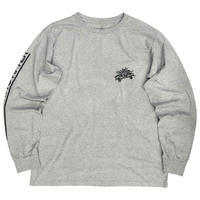THE SKATING AFTER L/S TEE / GREY / 14P19TS41OX