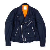 RIDERS JACKET / NAVY / 14B19JK03SI