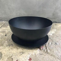 IRON POT (S) 15.3cm×7cm ソーサ付 / BPA-0013