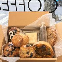 【同梱不可】bluff bakery カフェおまかせ焼菓子セット ※送料割安な60サイズでの発送になります。