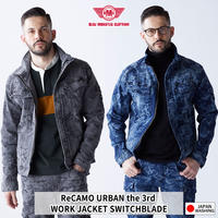 BMC Re CAMO URBAN the 3rd JACKET CAMO BLACK & CAMO BLUE/ U03W