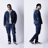 URBAN the 3rd JACKET REBEL BLACK & MIDNIGHT / U03W