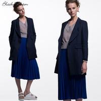 ジョーゼットプリーツスカート  c/#BLUE  75436-105