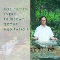 [ZOOM受講]2021年7月29日(木)ボブ・フィックス オンライングループ瞑想会* (¥2,000 )