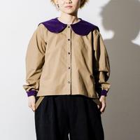 sailor collar shirt  -otona-