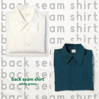 back seam shirt -リボンなしー