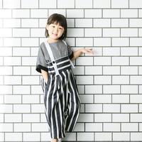 stripe  salopette