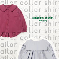 sailor collar shirt