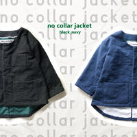 no collar jacket