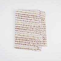 手拭い【 soil 】赤銅色 × 黄橡   ★店頭サンプルに使用