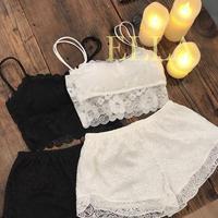 即納★Lace petticoat/2color