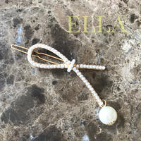 即納★ Pearl Ribon hair accessory