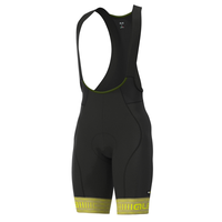 GREEN ROAD BIBSHORTS(PISTACHIO/FLUO YELLOW)