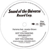 PPR-022 Karisma Feat. Jocelyn Brown: Got You Dancing (DIGUMA EDIT)/  (Instrumental) (DIGUMA EDIT)