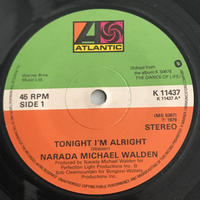 NARADA MAICHAEL WALDEN:TONIGHT I'M ALRIGHT