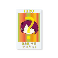 『B&H』当日チェキ1枚(HIRO)