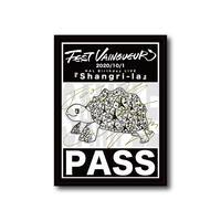 『Shangri-La』記念パスステッカー(サイン有)